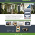 Vintage Homes of Tennessee Home Builder Website